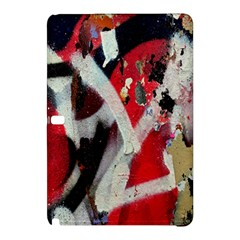 Abstract Graffiti Background Wallpaper Of Close Up Of Peeling Samsung Galaxy Tab Pro 12 2 Hardshell Case
