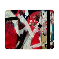 Abstract Graffiti Background Wallpaper Of Close Up Of Peeling Samsung Galaxy Tab Pro 8.4  Flip Case