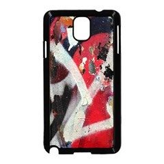 Abstract Graffiti Background Wallpaper Of Close Up Of Peeling Samsung Galaxy Note 3 Neo Hardshell Case (black)