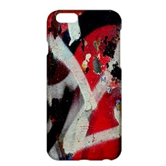Abstract Graffiti Background Wallpaper Of Close Up Of Peeling Apple Iphone 6 Plus/6s Plus Hardshell Case