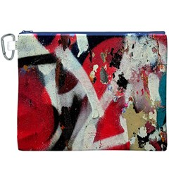 Abstract Graffiti Background Wallpaper Of Close Up Of Peeling Canvas Cosmetic Bag (xxxl)