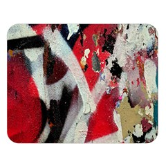 Abstract Graffiti Background Wallpaper Of Close Up Of Peeling Double Sided Flano Blanket (Large)