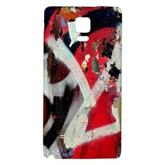 Abstract Graffiti Background Wallpaper Of Close Up Of Peeling Galaxy Note 4 Back Case