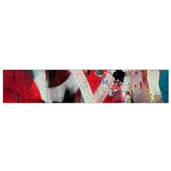 Abstract Graffiti Background Wallpaper Of Close Up Of Peeling Flano Scarf (Small)