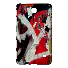 Abstract Graffiti Background Wallpaper Of Close Up Of Peeling Samsung Galaxy Tab 4 (8 ) Hardshell Case