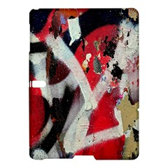 Abstract Graffiti Background Wallpaper Of Close Up Of Peeling Samsung Galaxy Tab S (10.5 ) Hardshell Case