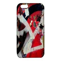 Abstract Graffiti Background Wallpaper Of Close Up Of Peeling iPhone 6/6S TPU Case