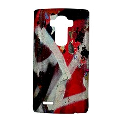 Abstract Graffiti Background Wallpaper Of Close Up Of Peeling LG G4 Hardshell Case