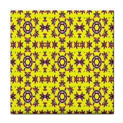 Yellow Seamless Wallpaper Digital Computer Graphic Tile Coasters