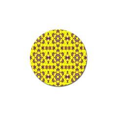 Yellow Seamless Wallpaper Digital Computer Graphic Golf Ball Marker
