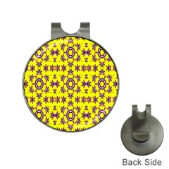Yellow Seamless Wallpaper Digital Computer Graphic Hat Clips With Golf Markers