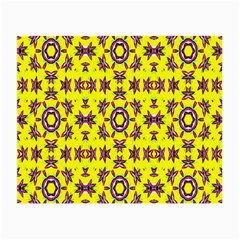 Yellow Seamless Wallpaper Digital Computer Graphic Small Glasses Cloth (2-Side)