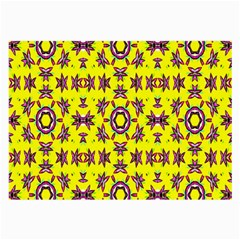Yellow Seamless Wallpaper Digital Computer Graphic Large Glasses Cloth (2-Side)