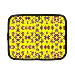 Yellow Seamless Wallpaper Digital Computer Graphic Netbook Case (Small)