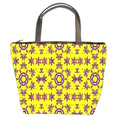 Yellow Seamless Wallpaper Digital Computer Graphic Bucket Bags