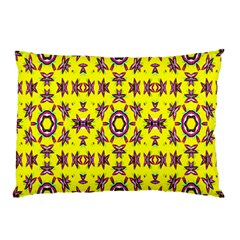 Yellow Seamless Wallpaper Digital Computer Graphic Pillow Case (Two Sides)