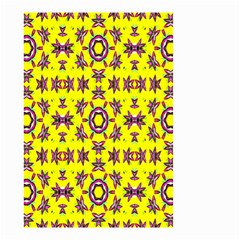 Yellow Seamless Wallpaper Digital Computer Graphic Small Garden Flag (Two Sides)