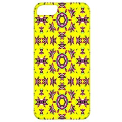 Yellow Seamless Wallpaper Digital Computer Graphic Apple iPhone 5 Classic Hardshell Case