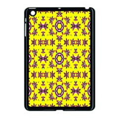 Yellow Seamless Wallpaper Digital Computer Graphic Apple Ipad Mini Case (black)