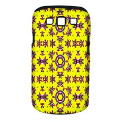 Yellow Seamless Wallpaper Digital Computer Graphic Samsung Galaxy S Iii Classic Hardshell Case (pc+silicone)