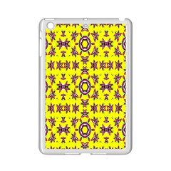 Yellow Seamless Wallpaper Digital Computer Graphic iPad Mini 2 Enamel Coated Cases