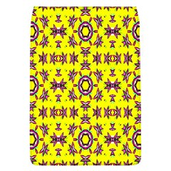Yellow Seamless Wallpaper Digital Computer Graphic Flap Covers (L)