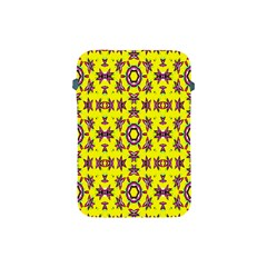 Yellow Seamless Wallpaper Digital Computer Graphic Apple Ipad Mini Protective Soft Cases
