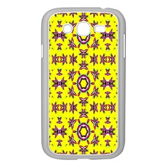 Yellow Seamless Wallpaper Digital Computer Graphic Samsung Galaxy Grand DUOS I9082 Case (White)