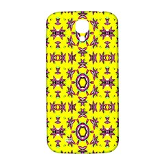 Yellow Seamless Wallpaper Digital Computer Graphic Samsung Galaxy S4 I9500/I9505  Hardshell Back Case