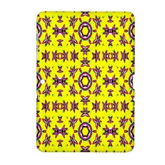 Yellow Seamless Wallpaper Digital Computer Graphic Samsung Galaxy Tab 2 (10 1 ) P5100 Hardshell Case