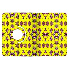 Yellow Seamless Wallpaper Digital Computer Graphic Kindle Fire Hdx Flip 360 Case