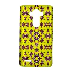 Yellow Seamless Wallpaper Digital Computer Graphic LG G4 Hardshell Case