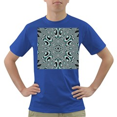 Kaleidoskope Digital Computer Graphic Dark T Shirt