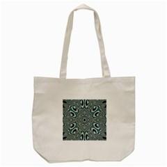 Kaleidoskope Digital Computer Graphic Tote Bag (cream)