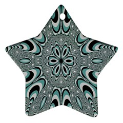 Kaleidoskope Digital Computer Graphic Star Ornament (Two Sides)