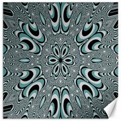 Kaleidoskope Digital Computer Graphic Canvas 12  X 12