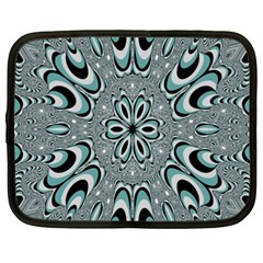 Kaleidoskope Digital Computer Graphic Netbook Case (xxl)