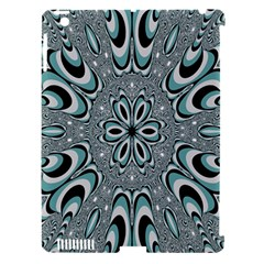 Kaleidoskope Digital Computer Graphic Apple iPad 3/4 Hardshell Case (Compatible with Smart Cover)