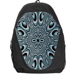Kaleidoskope Digital Computer Graphic Backpack Bag