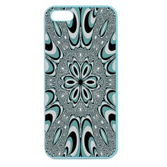 Kaleidoskope Digital Computer Graphic Apple Seamless iPhone 5 Case (Color)
