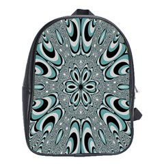 Kaleidoskope Digital Computer Graphic School Bags (xl)