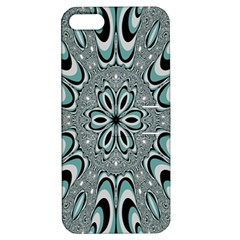 Kaleidoskope Digital Computer Graphic Apple iPhone 5 Hardshell Case with Stand