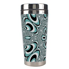 Kaleidoskope Digital Computer Graphic Stainless Steel Travel Tumblers