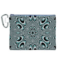 Kaleidoskope Digital Computer Graphic Canvas Cosmetic Bag (xl)