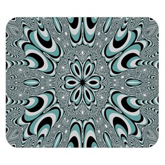 Kaleidoskope Digital Computer Graphic Double Sided Flano Blanket (Small)