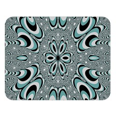 Kaleidoskope Digital Computer Graphic Double Sided Flano Blanket (large)