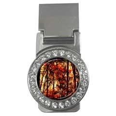 Forest Trees Abstract Money Clips (cz)