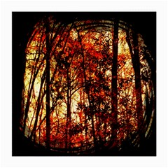 Forest Trees Abstract Medium Glasses Cloth (2 Side)