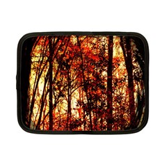 Forest Trees Abstract Netbook Case (small)