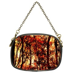 Forest Trees Abstract Chain Purses (One Side)